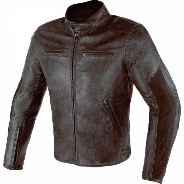 Dainese            Stripes D1 Leather Lederjacke braun 54