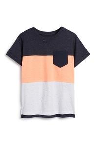 T-Shirt in Blockfarben (kleine Jungen)