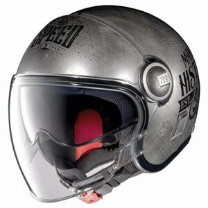 Nolan            N21 Visor Moto GP Scratched Chrome #30 XS