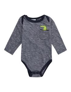 Newborn Body mit Brusttasche