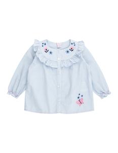 Newborn Bluse mit Rüschenbesatz