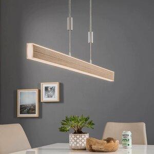 B-LEUCHTEN LED-Pendelleuchte   Kiruna Wood