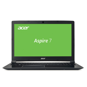 "Acer Aspire 7 (A715-72G-715P) 15,6"" Full HD IPS, Core i7-8750H, 8GB RAM, 1000GB + 256GB SSD, GeForce GTX 1050Ti, Win 10"