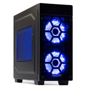 Hyrican Striker PCK06158 Gaming-PC [Ryzen 5 2600 / 16GB RAM / 240GB SSD / 2TB HDD / RX 580 / AMD A320 / Win10]
