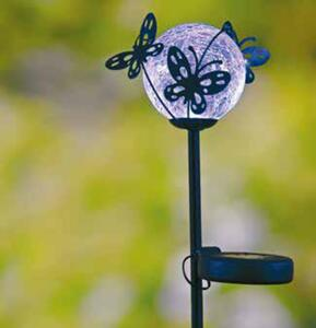 Garden Dream Solar-Schmetterlingsball