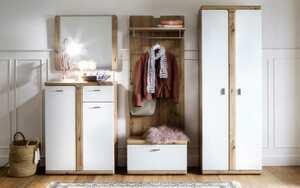 MCA furniture - Garderobenkombi Torino in Balkeneiche-Optik, 5 teilig