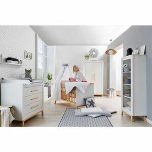 Schardt   3-tlg. Babyzimmer Miami white mit 2-türigem Kleiderschrank
