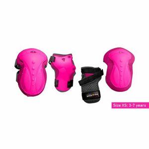 smarTrike   Protektoren-Set pink