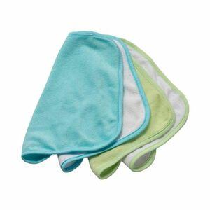 Rotho Babydesign   4er-Pack Waschtücher türkis