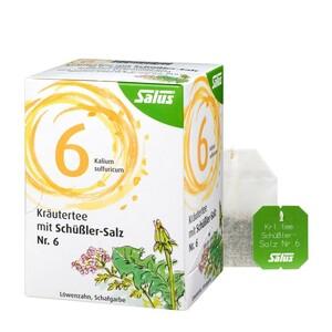 Salus  Kräutertee mit Schüßler-Salz Nr. 6 15 Filterbeutel