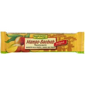 Rapunzel Bio Fruchtschnitte Mango-Baobab 40 g