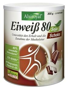 Alsiroyal  Eiweiß 80 Soja Schoko 300 g