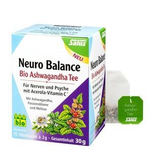 Salus Bio Neuro Balance Ashwagandha Tee 15 Filterbeutel