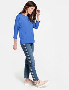 Jeans mit Galonstreifen Skinny