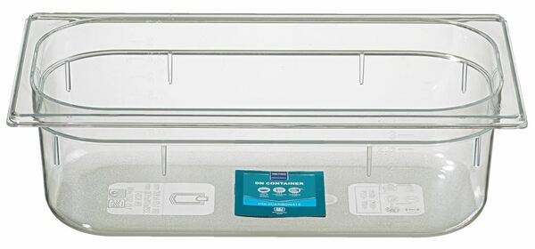 METRO Professional GN Behälter 1/3 Polycarbonat (PC) 100 mm