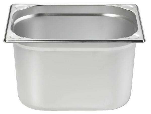 METRO Professional GN Behälter 1/2 Chrom-Nickel-Edelstahl 200 mm