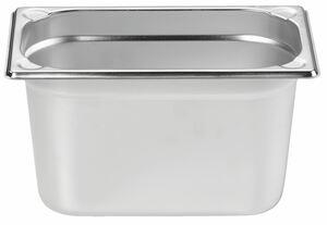METRO Professional GN Behälter 1/4 Chrom-Nickel-Edelstahl 150 mm