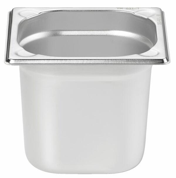 METRO Professional GN Behälter 1/6 Chrom-Nickel-Edelstahl 150 mm