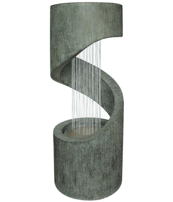 Dehner Polyresin-Gartenbrunnen Mali, Ø 31,5 x 79,5 cm