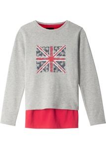 Sweatshirt + Top (2-tlg. Set)