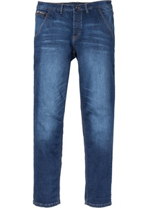 Stretch-Jeans-Chino Slim Fit Straight