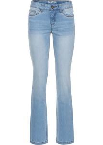 Premium-Stretch-Jeans mit T-400, STRAIGHT