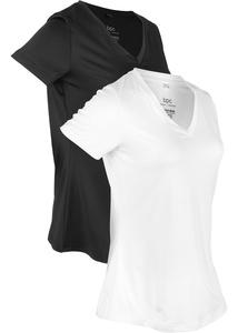 Sport-Shirt, 2er-Pack, kurzarm