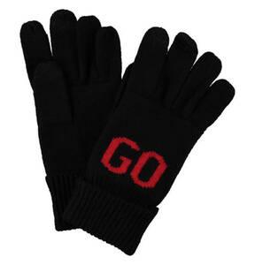 BOSS             Handschuhe, Strick, Woll-Anteil