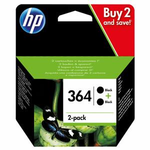 HP 364 Druckerpatrone, Schwarz