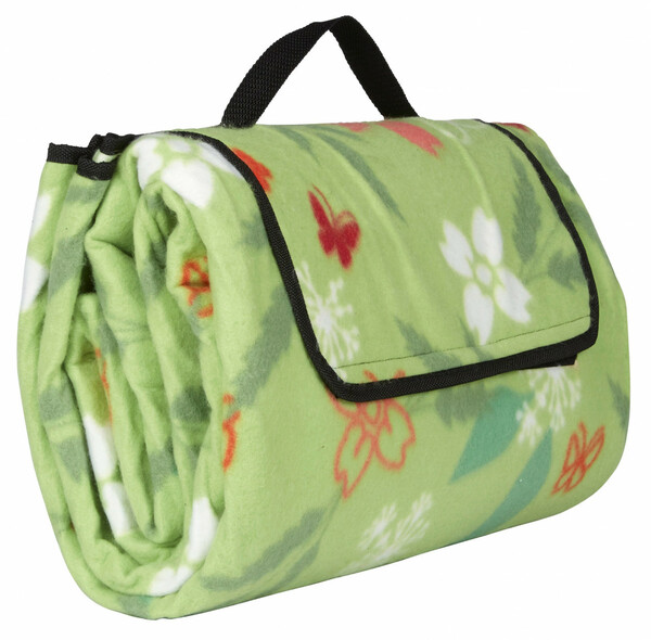 Home Ideas Seasons Camping- und Picknickdecke XXL, Blume