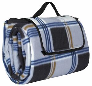 Home Ideas Seasons Camping- und Picknickdecke XXL, dunkel blau