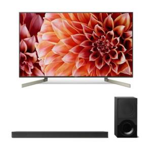 SONY Bravia KD55XF9005 139cm 55´´ 4K TV - Bundle mit HT-XF9000-Soundbar
