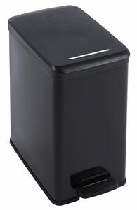 Curver Deco Slim Treteimer, schwarz metallic, 25 l