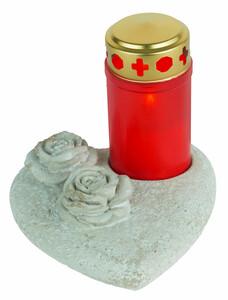 Grabdekoration Rose