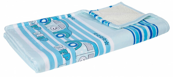 Home Ideas Living Kinder Kuscheldecke mit Lammfellimitat, Auto
