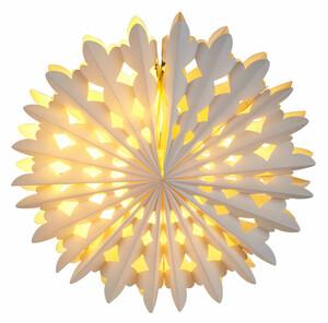 Home Ideas 10er LED-Papier-Schneeflocke