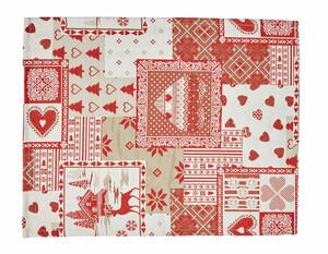 Platzset 2er Pack Herz, 34 x 45 cm