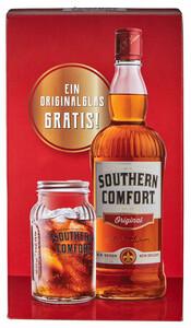 Southern Comfort Original in Geschenkpackung mit Glas