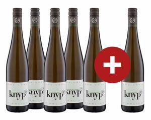 5 + 1 Knyphausen Riesling, halbtrocken