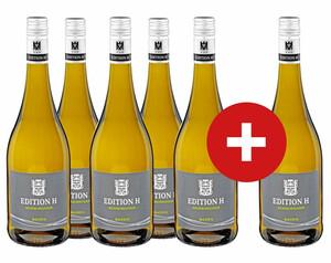 5 + 1 Edition H Weißburgunder, trocken
