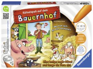 """Ravensburger tiptoi """"Rätselspaß auf dem Bauernhof"""""""
