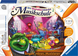 "Ravensburger tiptoi ""Die monsterstarke Musikschule"""