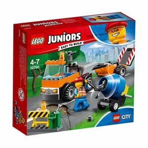 Lego Juniors Straßenbau-Laster