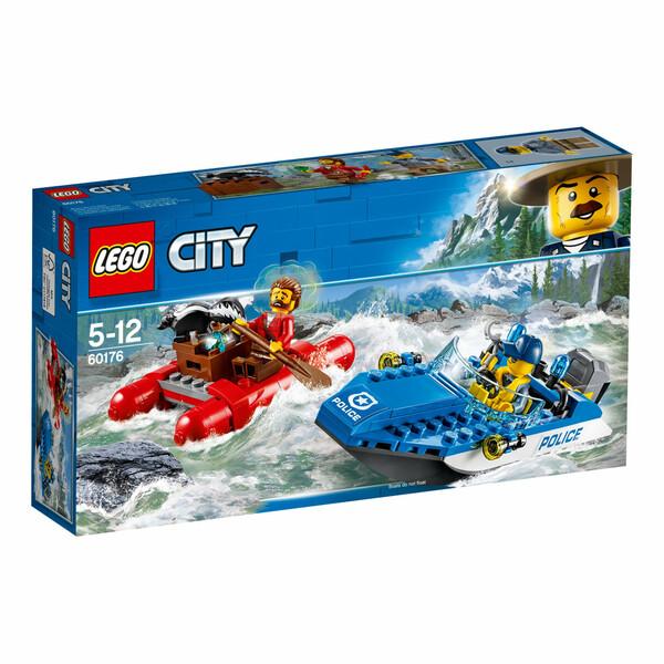 Lego Flucht durch die Stromschnellen