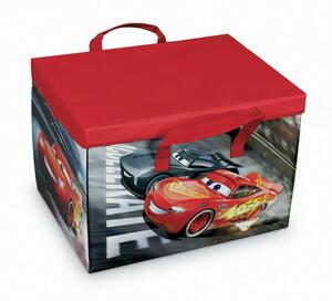 """Domopak Living 2-in-1-Stau- und Spiel-Box """"Cars"""""""