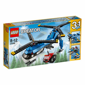 Lego Doppelrotor-Hubschrauber