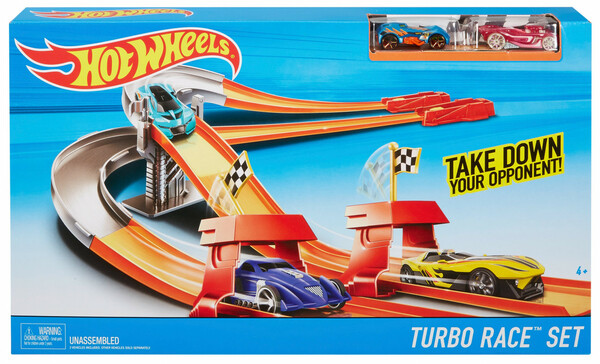 Mattel Hot Wheels Turbo Race Set