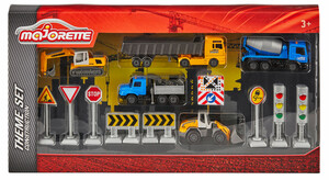 Majorette Big Construction Theme Set