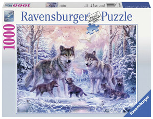 Ravensburger Puzzle, Arktische Wölfe