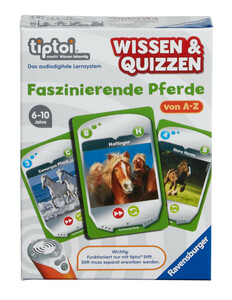 Ravensburger Wissen & Quizzen: Faszinierende Pferde